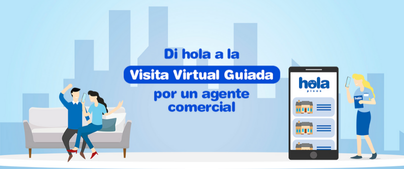 'Call My Agent' – The real estate portal Holapisos introduces professional agents into their calls and guided virtual tours