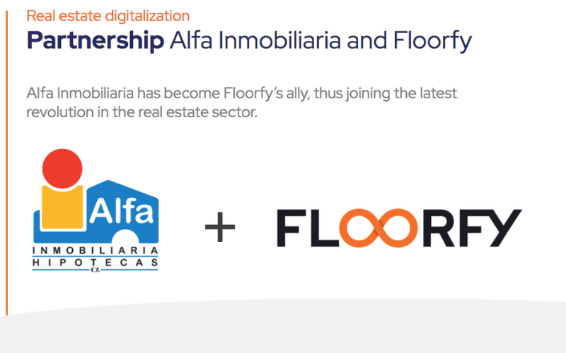 Partnership Alfa Inmobiliaria and Floorfy