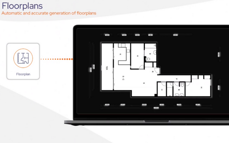 Automatically generated 2D floor plans