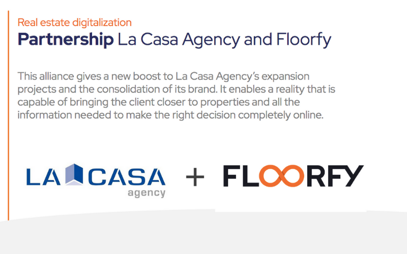 Partnership La Casa Agency and Floorfy
