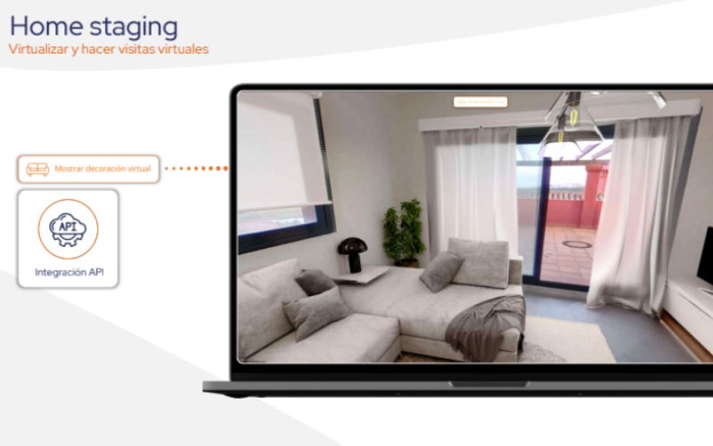 Decoración o 'Home Staging' inmobiliario virtual