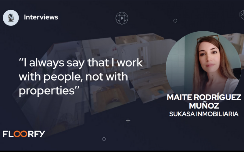 Interviews with real estate experts: Maite Rodríguez Muñoz
