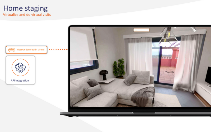 Real estate virtual Home Staging