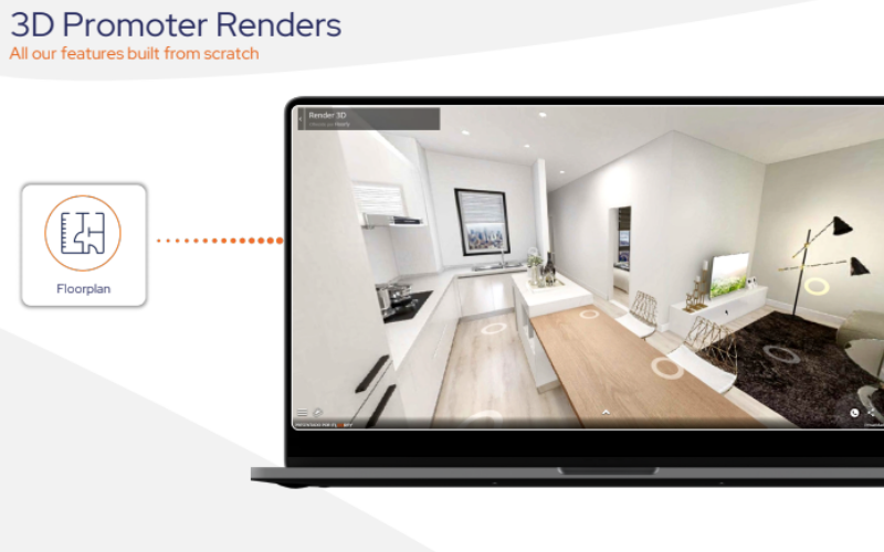 Real estate virtual tours for property developers